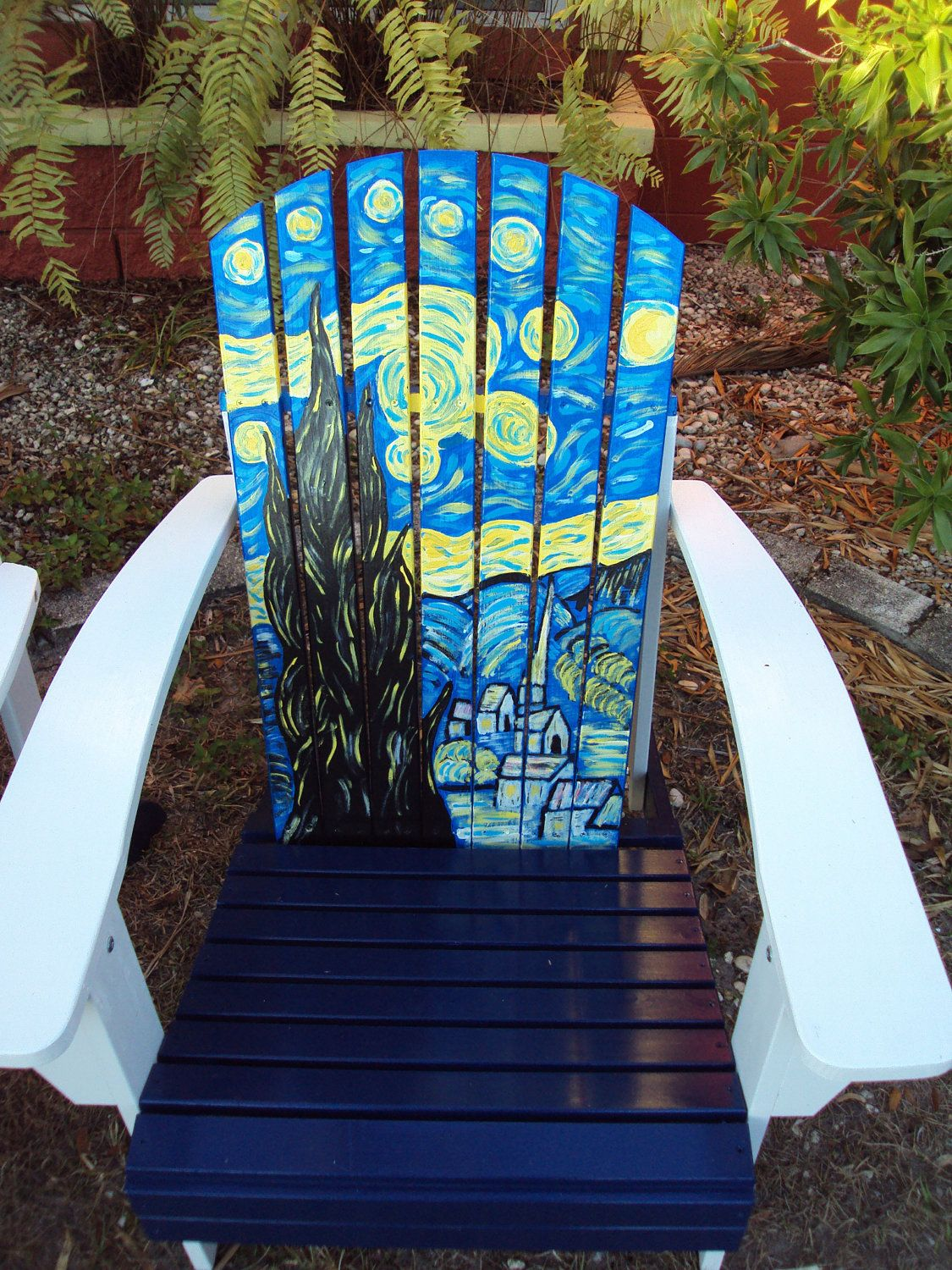 painted adirondack chairs how to rush a chair hand vincent wouldn 39t like this