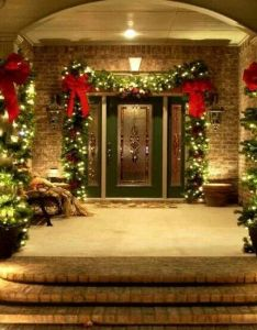 decoration small front yard landscape design ideas magnificent simple elegant christmas decorations creative home interiors outdoor - Simple Front Yard Christmas Decorations