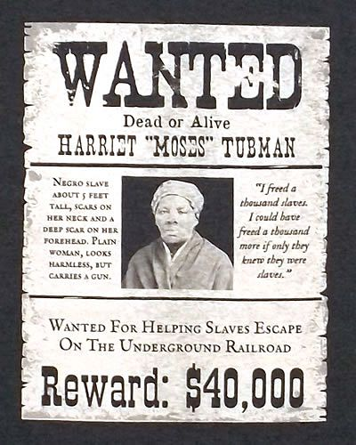 Harriet Tubman Historically Black Pinterest