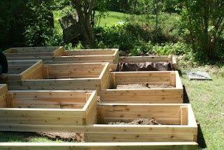 Terraced Planter Boxes Outdoor Pinterest Terraced Garden