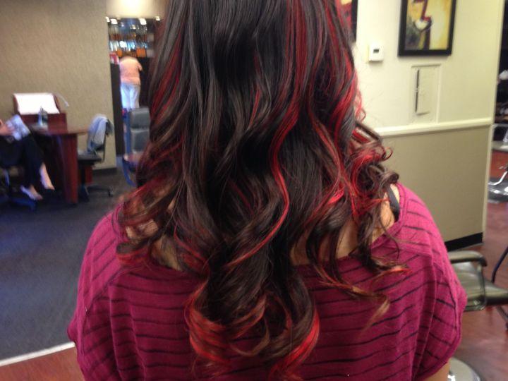 Awesome Peekaboo Hairstyle Hairstyle Ideas