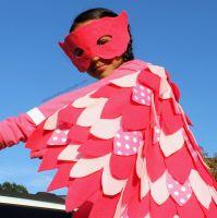 owlett costume, no sew, diy, do it yourself pj masks ...