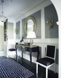 Possibilities for my new home   entry hall also wall panels id foyers hallways pinterest rh