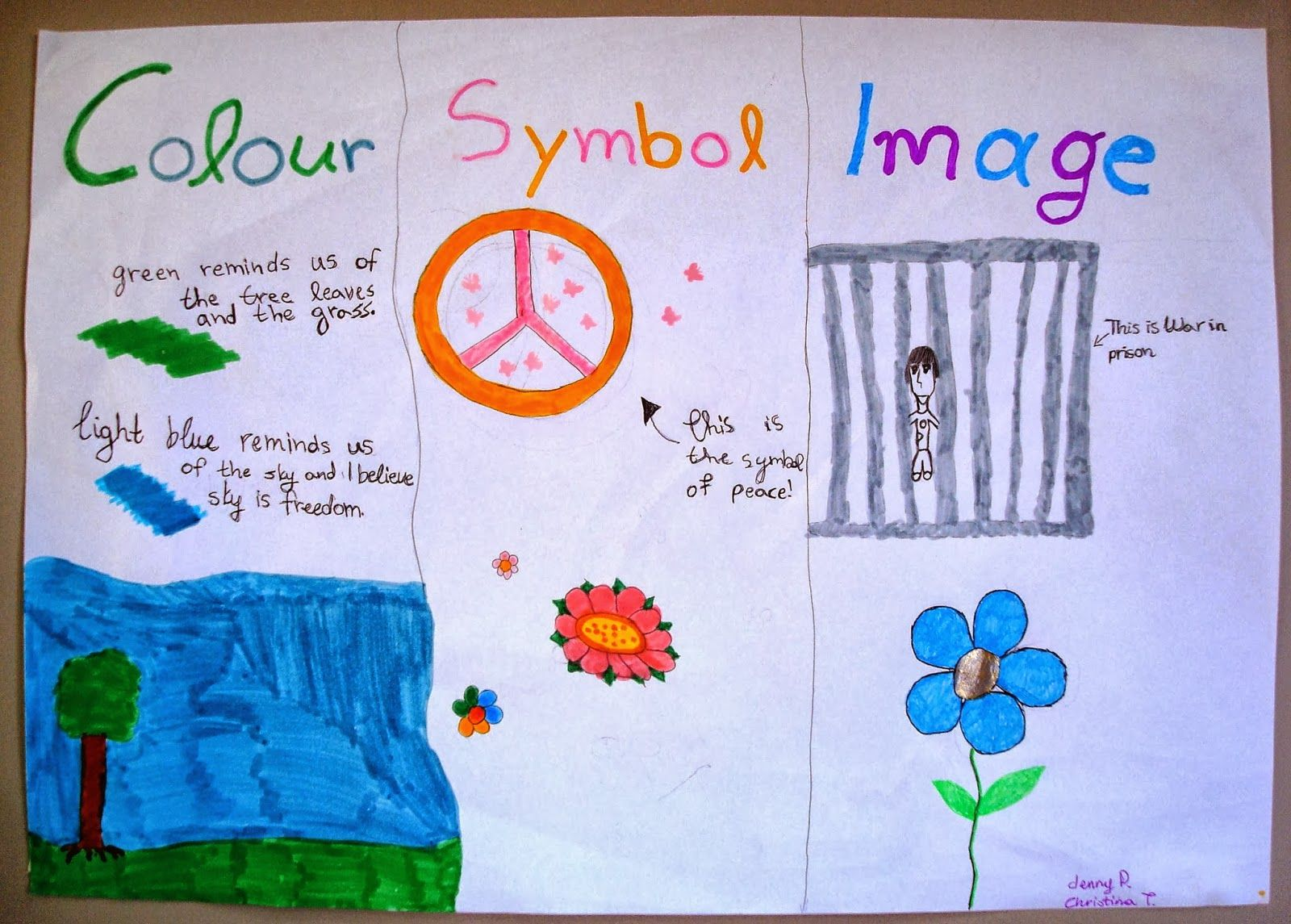 By Chrysa Papalazarou Colour Symbol Image Is A Thinking