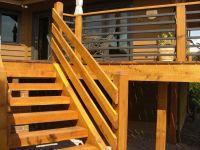 Portrayal of Horizontal Deck Railing Embraces Every