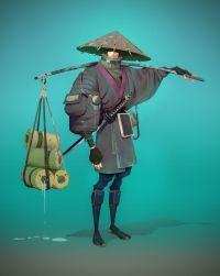 J-Stalker by Niconoff cyberpunk Chinese Japanese Asian ...