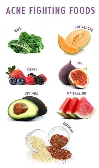 Foods To Get Rid Of Pimples