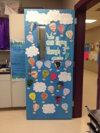 Hot Air Balloon Door for Spring! Each of my students ...