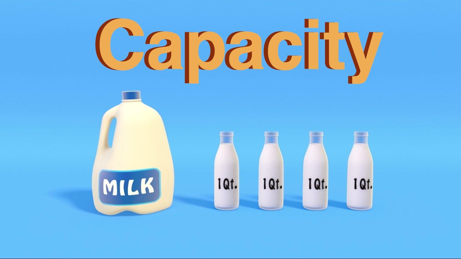 Capacity Worksheets With Capacity Game Capacity Video Capacity Activities