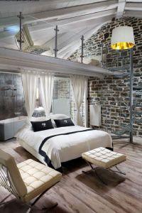Top 10 Most Romantic Bedrooms | Bedroom balcony, Exposed ...