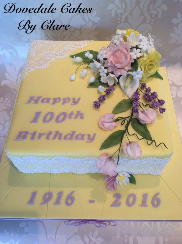 100th Birthday Cake Party Decorations Ideas
