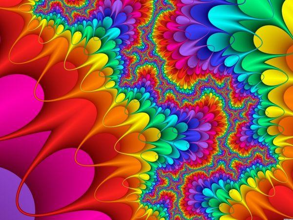 Invisible Egg Rainbow Fractal. - Fractals