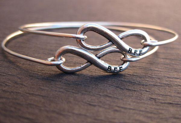Set Of 2 Friend Bracelets Friendship Jewelry Bff