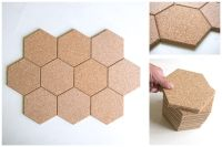 Hexagon Cork Tile - Connect with us at www.Facebook.com ...