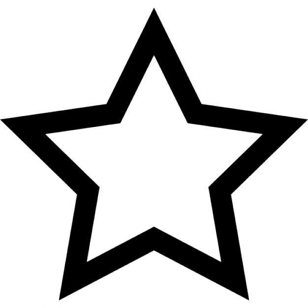 Funfzackigen Stern Vektoren 390 Malvorlage Stern