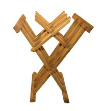 Wooden medieval folding chair by TabernaVagantis on Etsy ...
