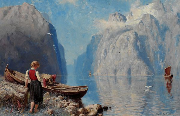 Famous Norweigian Paintings - Google Fun Stuff