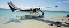 heron island plane