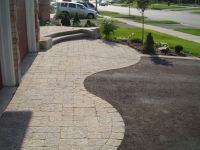 driveway design | ... house's curb appeal by installing a ...