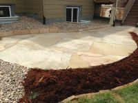 Colorado Buff Flagstone patio with really large pieces ...