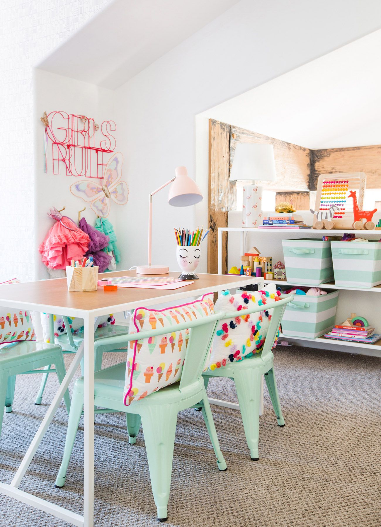 kids table and chairs target z line executive chair with mesh fabric a playroom pillowfort emily henderson