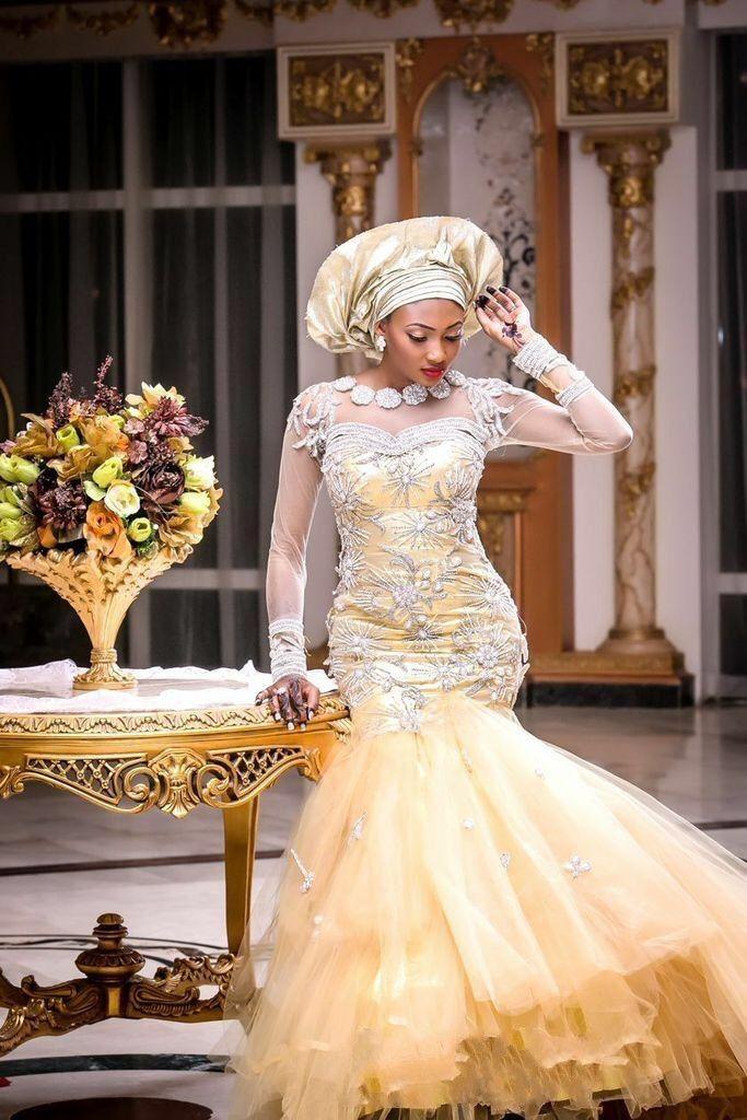 nigerian wedding dress styles  Google Search  Nigerian Weddings  Pinterest  Nigerian
