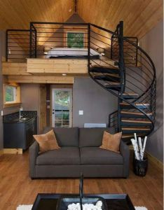 My favorite stairs for cabin tiny house olympia eld inlet remodel and studio addition transitional living room other metro kristina clark also great use of space area ideas pinterest spaces small rh