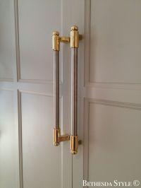 #BethesdaStyle ~ Brass & Steel Fridge Door Pulls ~ Custom ...
