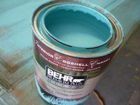 #kirklands #pinitpretty Tiffany Blue paint color on the
