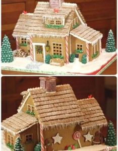 Simple inspiring gingerbread house ideas also houses two stories google search all about christmas rh pinterest