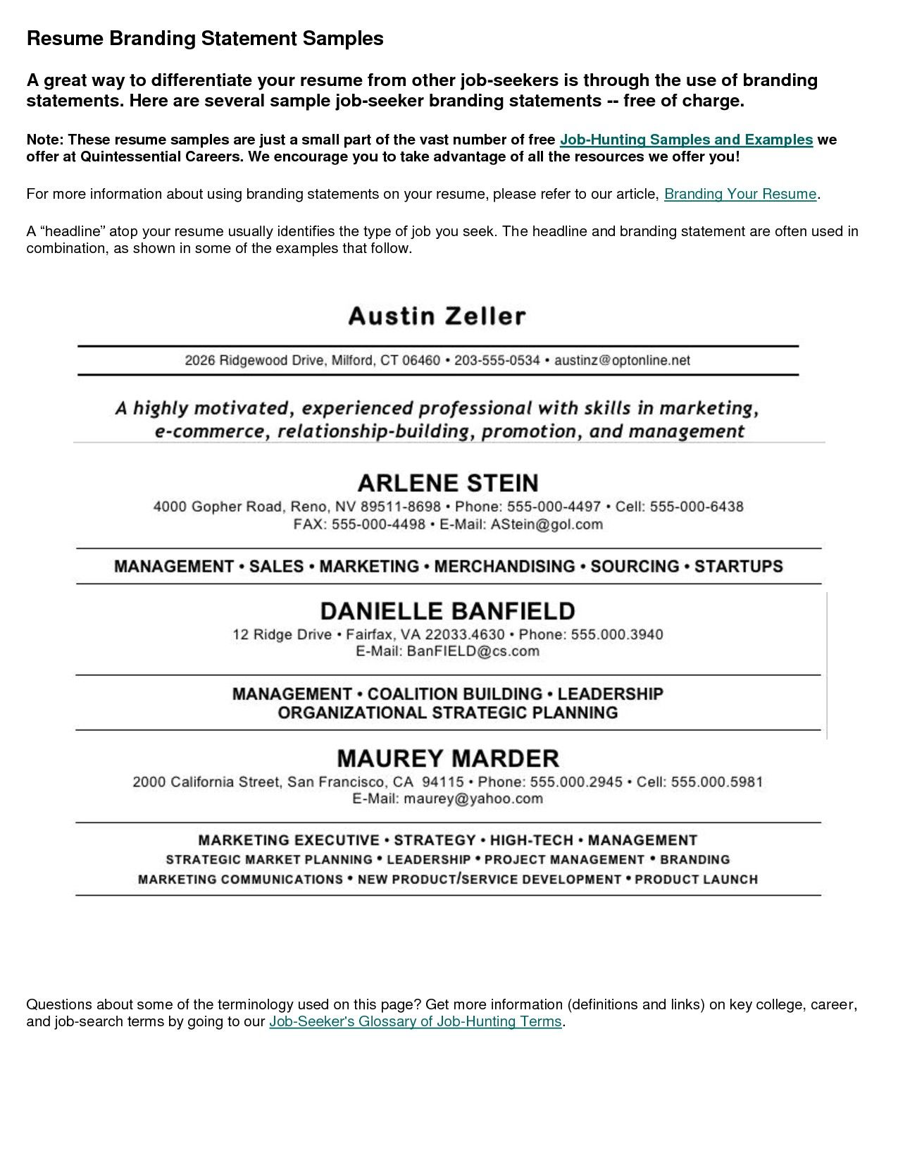 Job Resume Sample Resumecareer Info Job Resume Sample