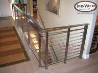 Stainless Steel Stair Railing Kits. Stunning Contempo ...