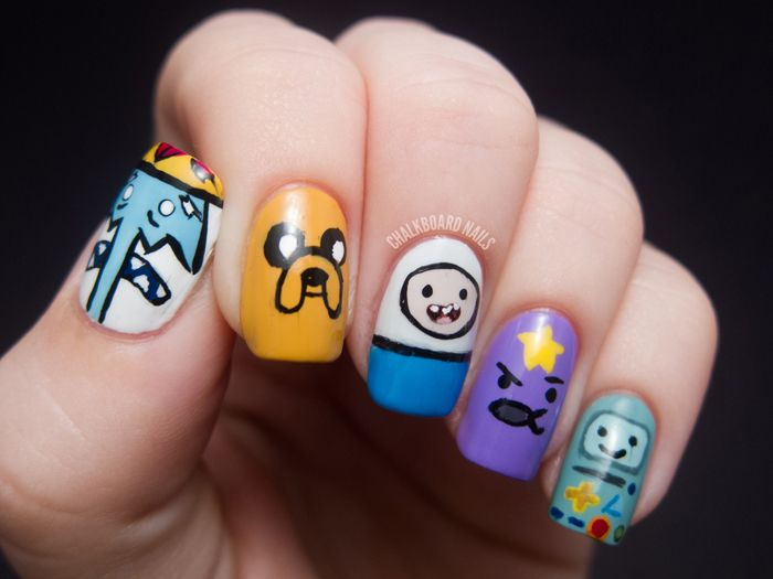 Amazing Easy Nail Designs For Kids To Do At Home Nail Love