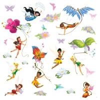 Amazon.com: Roommates Rmk1493Scs Disney Fairies Wall ...