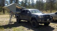 Yakima Bed Rail Rack Set Up - Tacoma World Forums | truck ...