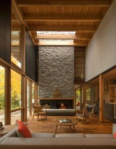 Beautiful home designed by bohlin grauman miller in  joint project with cywinski jackson also rh pinterest