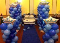 Prince/Denim Theme and Loveseat | Balloon Decor ...