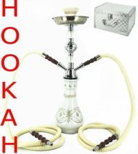 White Hookah Pipe Custom Case Smoke Pipe Huka Hooka ...