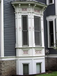 victorian bay windows