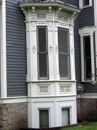 victorian bay windows