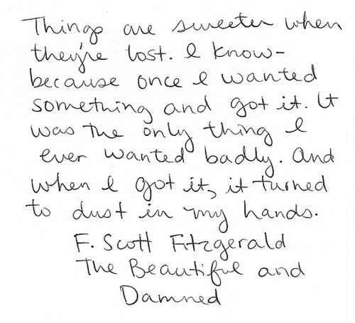 Community Post: 12 Quotes That Make You Wish F.Scott