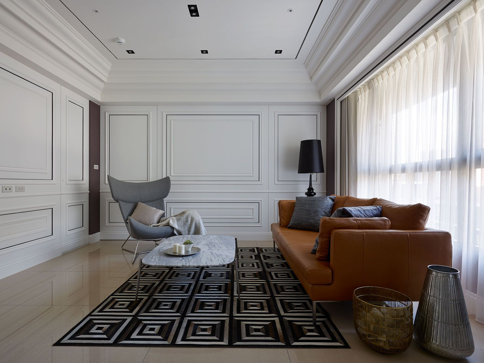 nice living room setting featuring BoConcept furniture  2