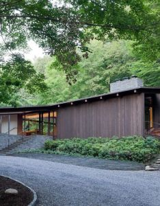 This mid century reimagined home by joel sanders architect and balmori associates is  blending of also rh pinterest