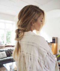 Loose, messy braid for long hair. | Braids on Braids ...