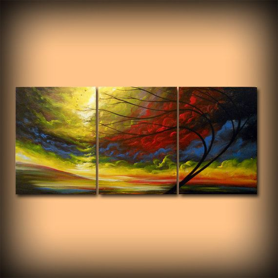 Acrylic art painting abstract large wall by mattsart also rh pinterest