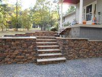 Dry Stack Retaining Wall Blocks (No Concrete Foundation
