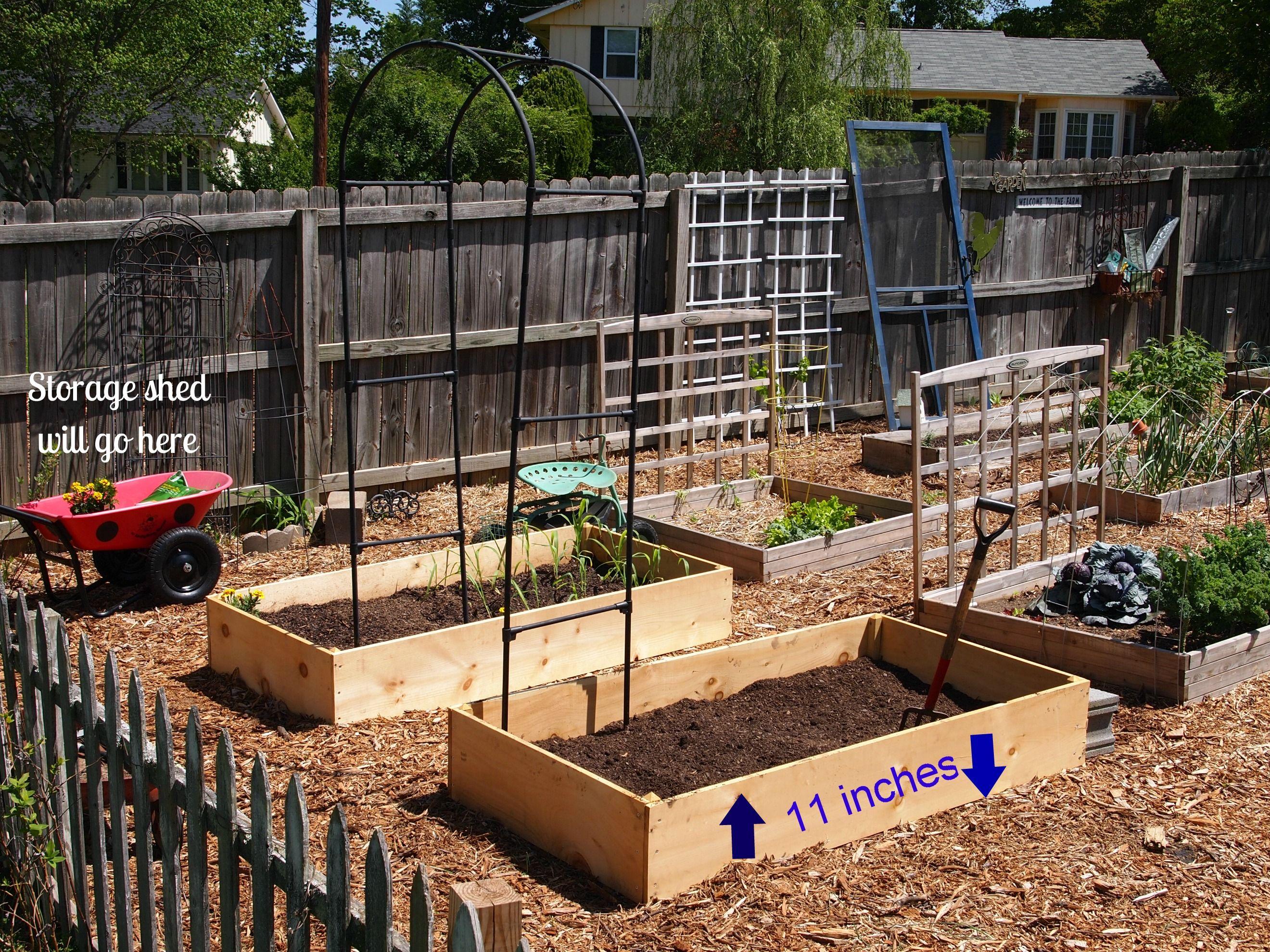 Easy Vegetable Garden Simple Backyard Vegetable Garden Tables