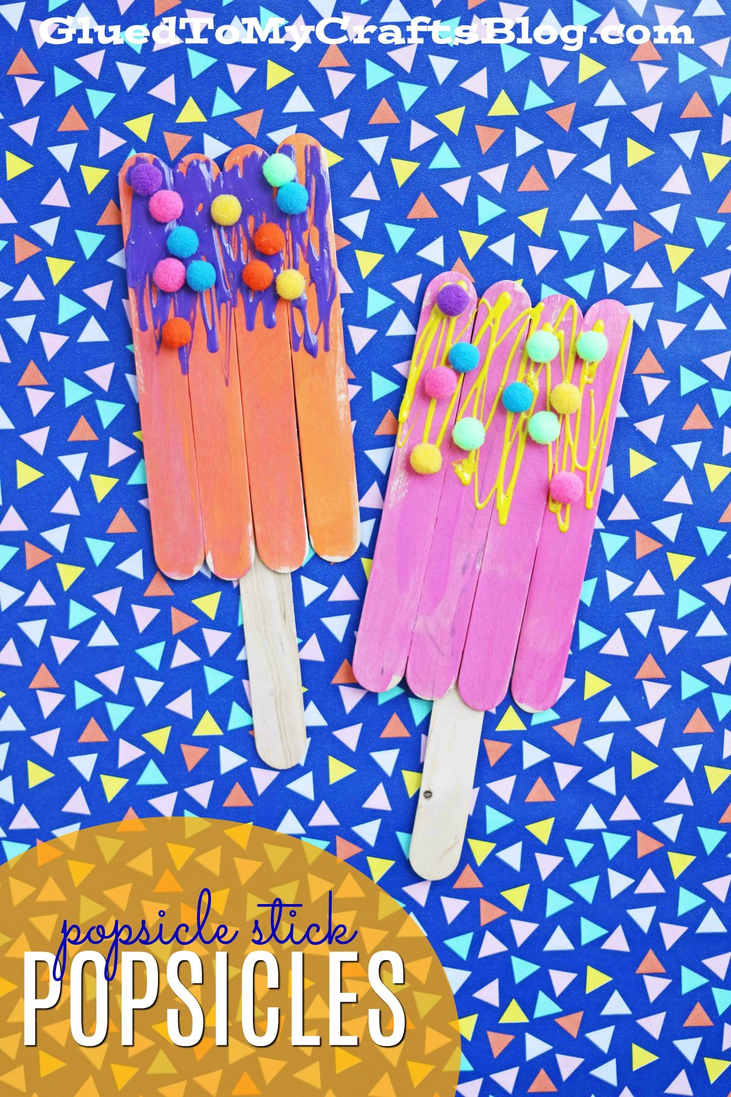 Pipe Cleaner Popsicles