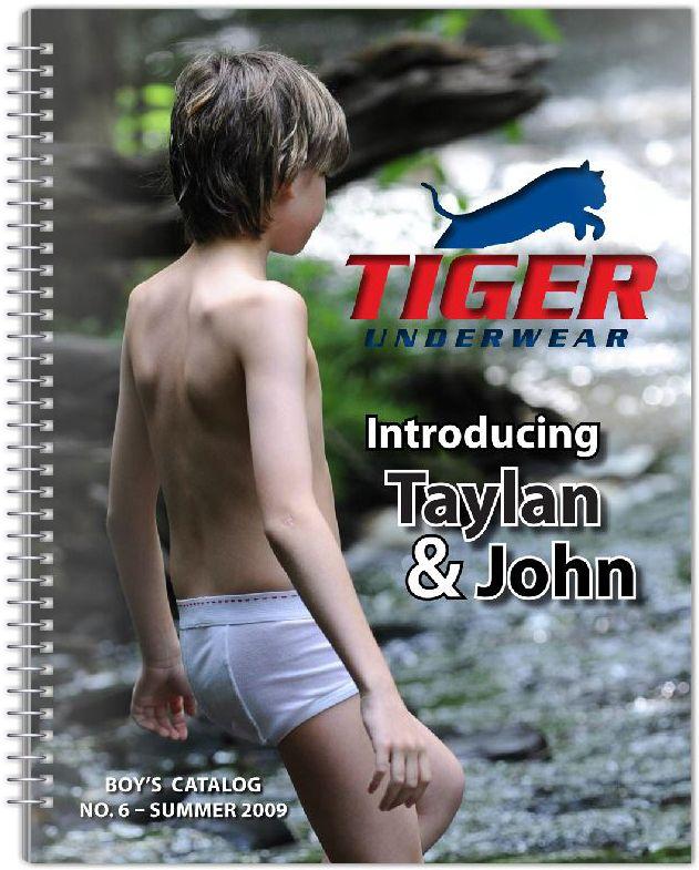 Tiger Underwear Boys