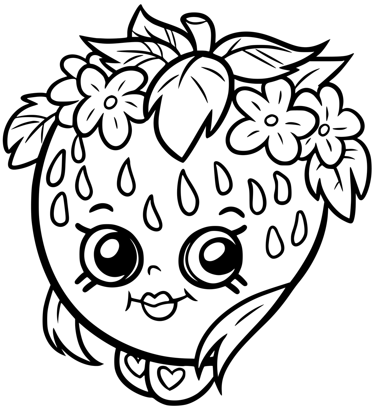 Pin By Myfreeprintablecoloringpages On Shopkins Coloring Pages
